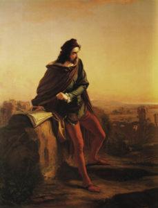 Federico Faruffini, Cola di Rienzo, (1855), Pavia – Collezione privata